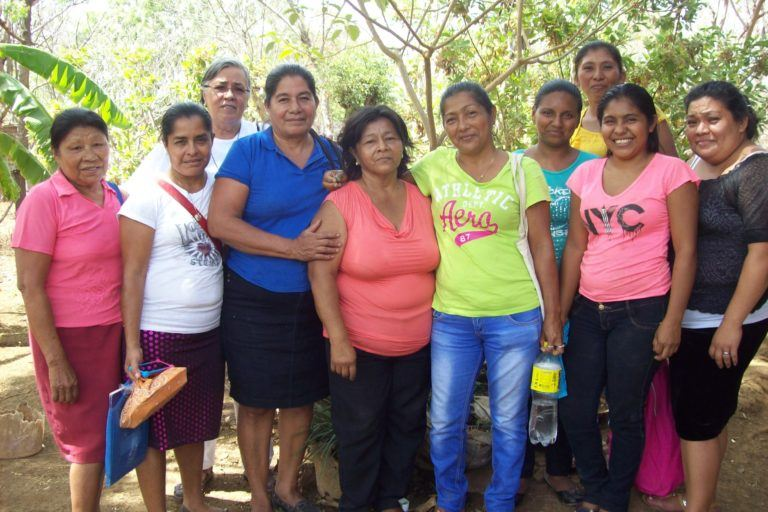 Photograph of a group of ESPERA women from Nicaragua.