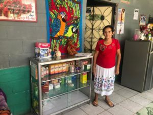 ESPERA woman and her store