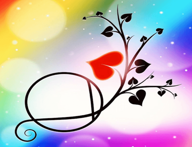 Colorful Heartspark logo with heart