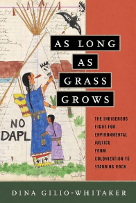 "Picture of ""As Long as Grass Grows"" Book for March 2020 book Club"