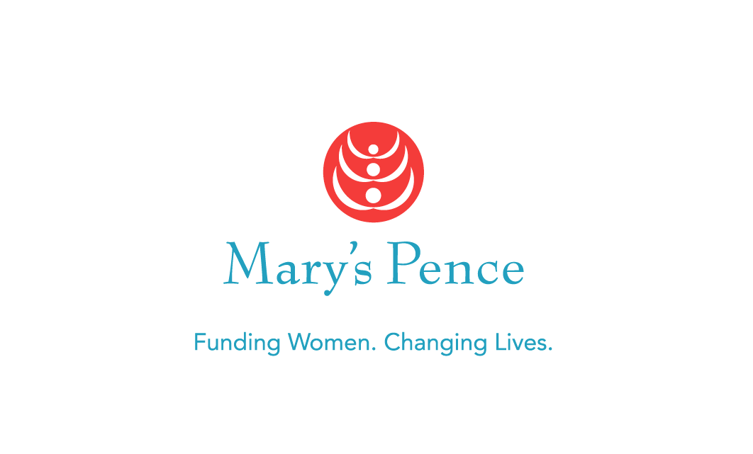 Logo and Tag Line for Mary's Pence